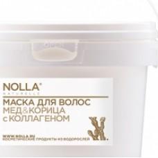 Маска для волос МЕД & КОРИЦА с коллагеном 400 мл